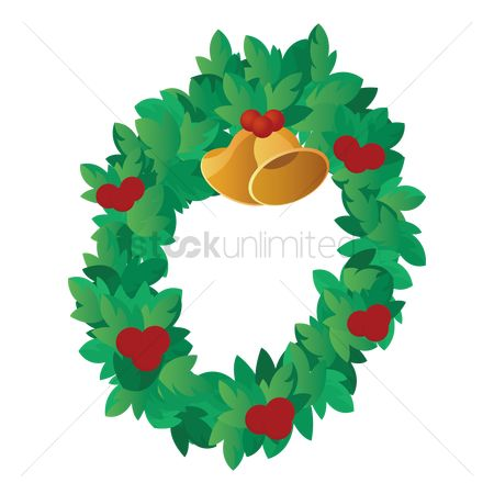 Jingle bells : Christmas wreath