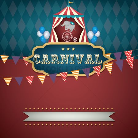 Bicycles : Circus carnival design