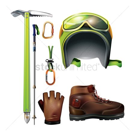 Hiking : Climbing equipment set