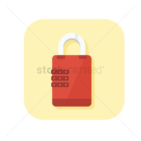 Password : Closed padlock