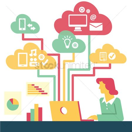 Email : Cloud computing concept