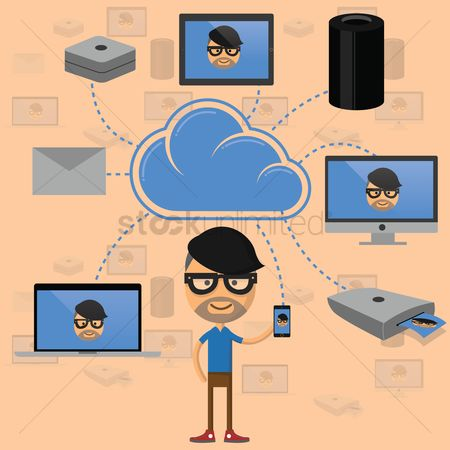 Reels : Cloud computing concept