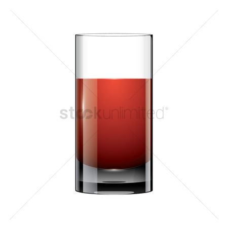 Red wine : Cocktail drink