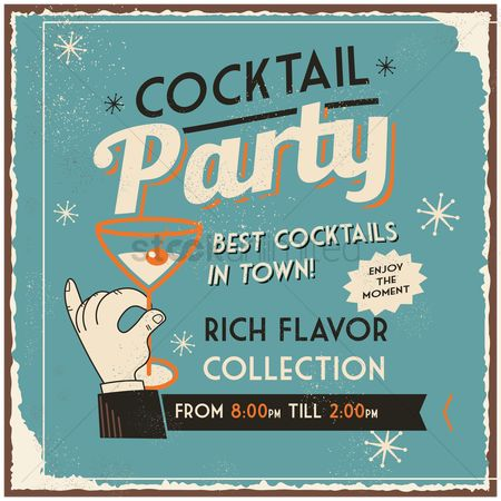 Alcohols : Cocktail party