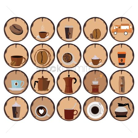 Makers : Coffee icons