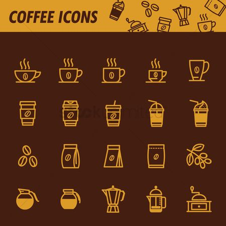 Steam : Coffee icons