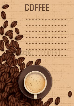 Warm : Coffee poster design