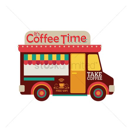 Businesspeople : Coffee truck