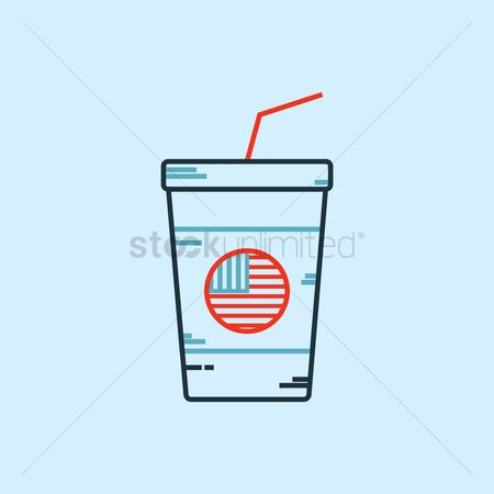 Disposable cup : Cold drink