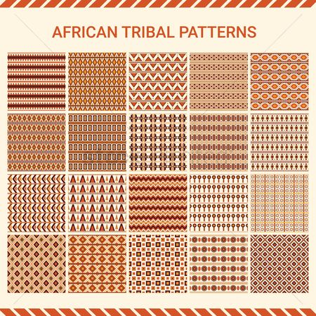 Free African Patterns Stock Vectors | StockUnlimited
