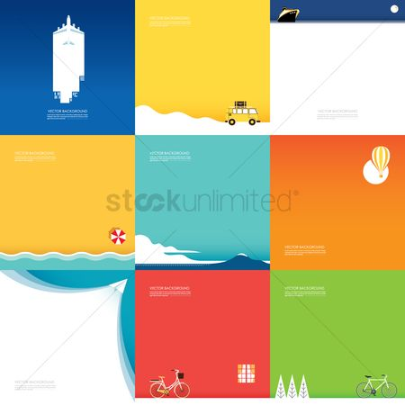 Lorries : Collection of assorted backgrounds