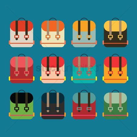 School bag : Collection of backpacks