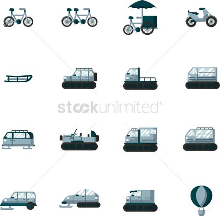 Journeys : Collection of bikes and snow mobiles