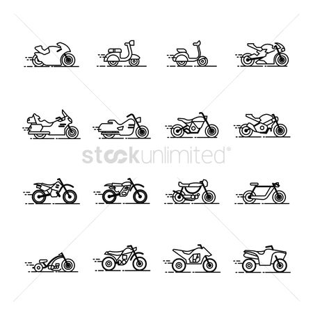 Touring : Collection of bikes