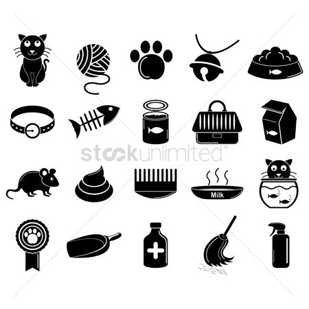 Broom : Collection of cat icons