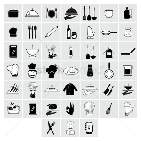 Jug : Collection of chef icons