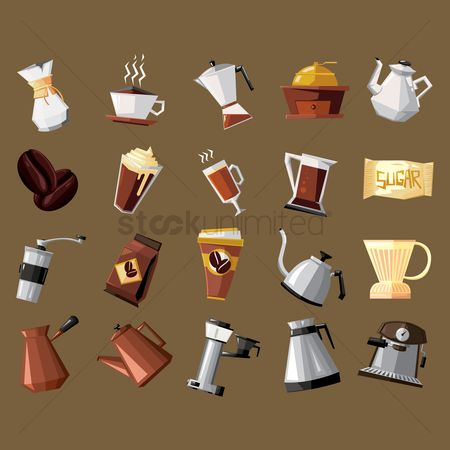 Flavor : Collection of coffee equipment