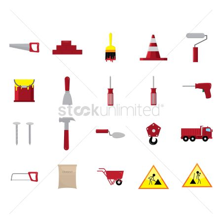 Cutters : Collection of construction icons