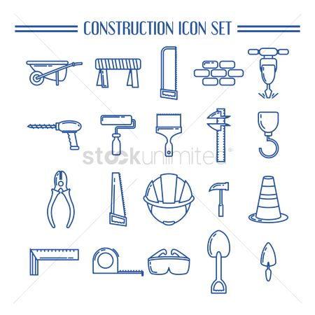 Screwdrivers : Collection of construction icons