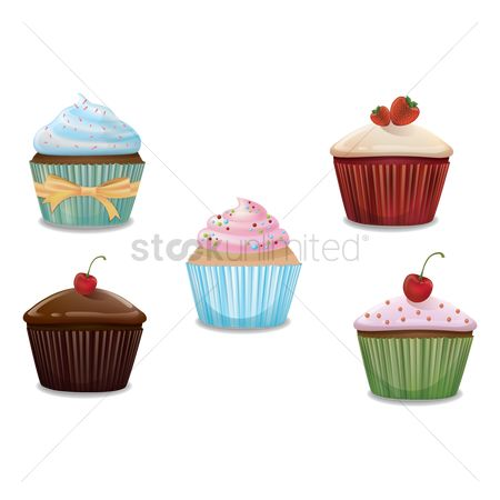 Confection : Collection of cupcakes