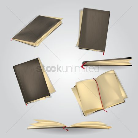 Hardcovers : Collection of diaries