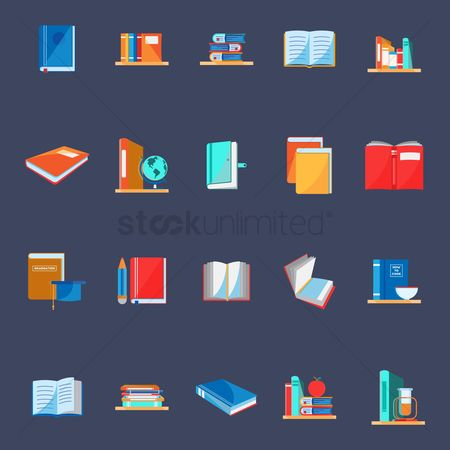 Racks : Collection of educational icons