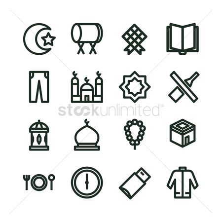 Drums : Collection of eid icons