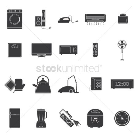 Washing machine : Collection of electronic appliances