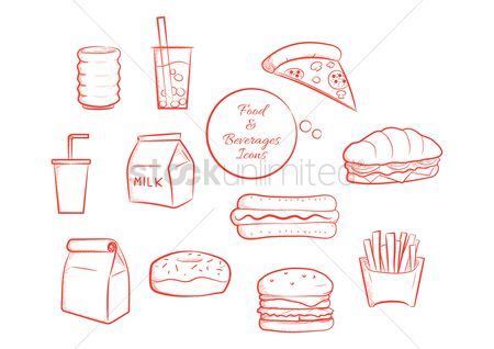 Submarine sandwich : Collection of food and beverages