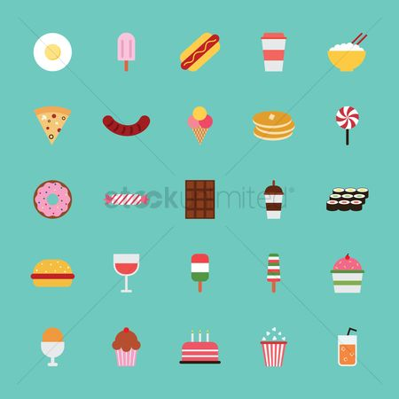 Confectionery : Collection of food items