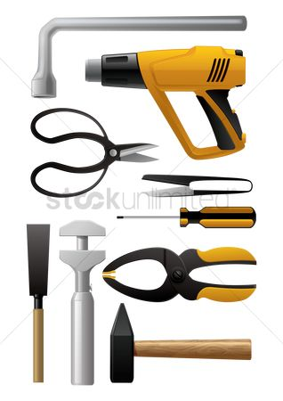 Mechanicals : Collection of hardware tools