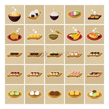 Cake : Collection of japanese food