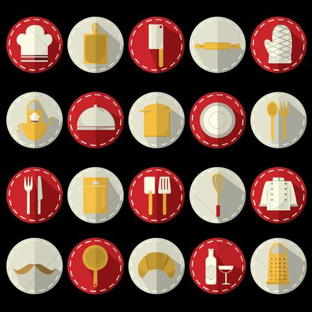 Croissant : Collection of kitchen related objects