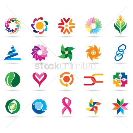 Styles : Collection of logo elements