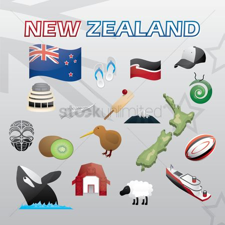 Silver : Collection of new zealand items