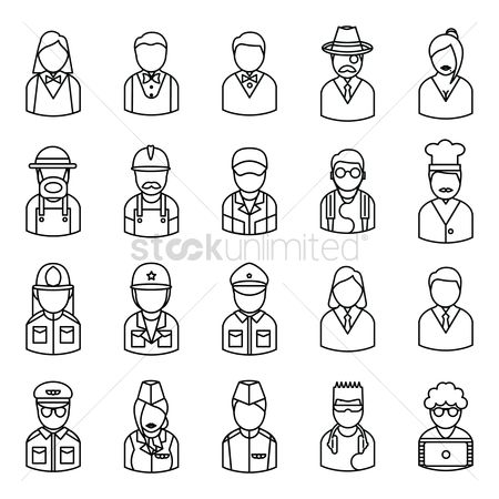 Workers : Collection of people and occupation