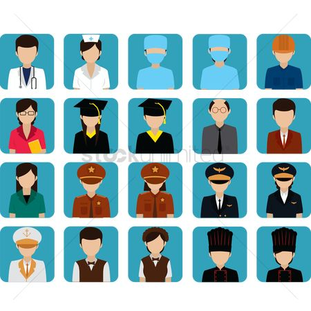 Surgeons : Collection of people in different professions