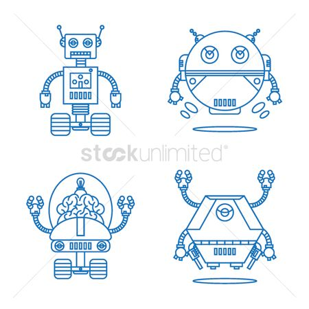 Machines : Collection of robots