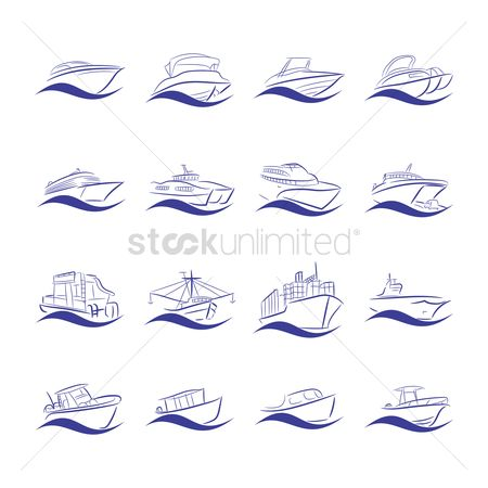 Nautical : Collection of ships