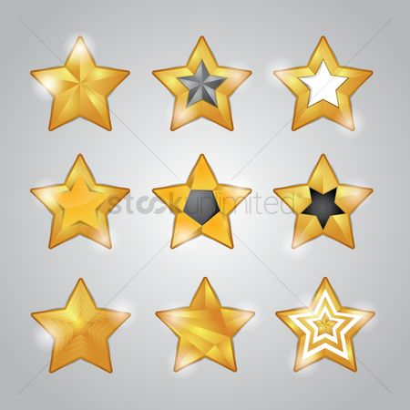 Shine : Collection of star designs