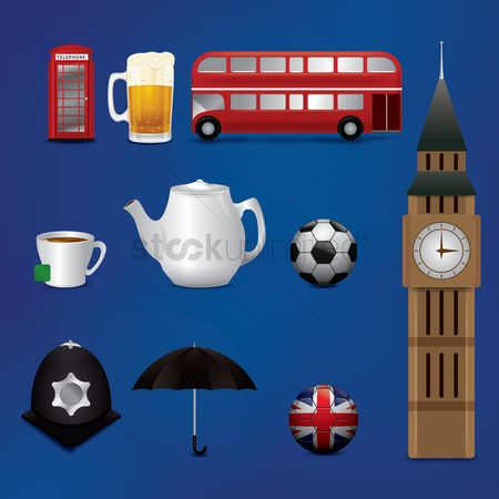 Teapot : Collection of uk icons