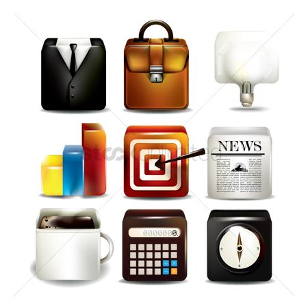 Icons news : Collection of user interface icons