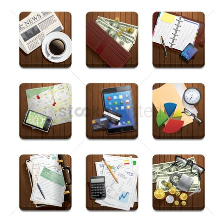 Electronic : Collection of various financial related objects