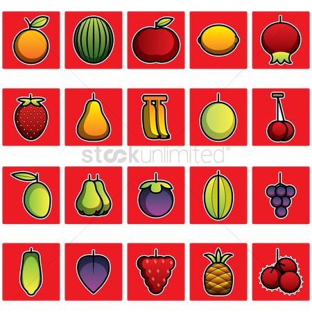 Mangoes : Collection of various fruits