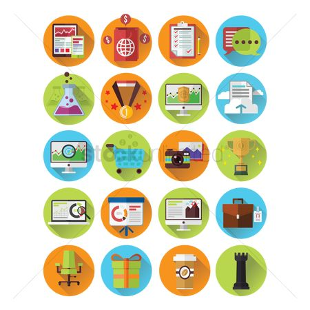 Retail : Collection of various icons