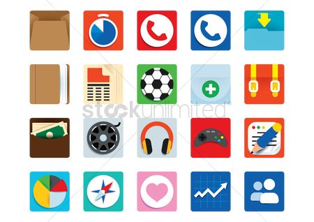 Favourites : Collection of various icons