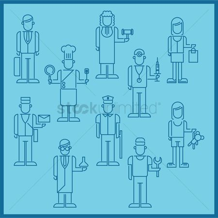 Repairman : Collection of various people