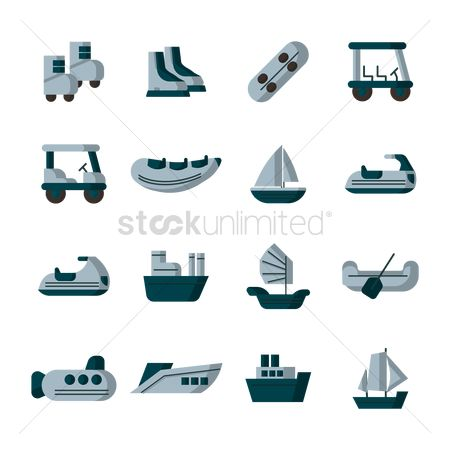 Paddle : Collection of vehicles and watercrafts