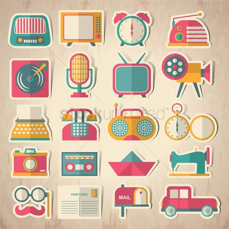 Cars : Collection of vintage devices