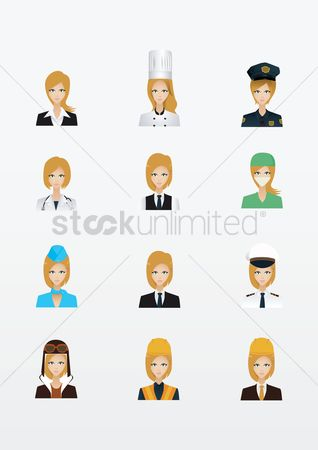 Surgeon : Collection of women and occupations